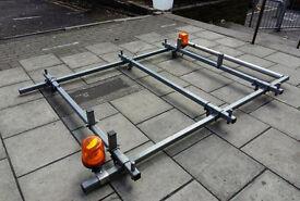 Roof Rack, Roof Bars 7ft x 5ft Nissan NV200, Dispatch, Transit, Partner