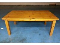solid wood dining table (item 12)
