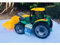 Toy tractor,large, like new still with label
