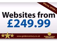 Website Design from £249.99 - Safe, Secure & Reliable Fast Service Available.