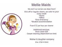Mellie Maids Home Cleaning Service