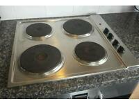 BOSCH STAINLESS STEEL ELECTRIC HOB
