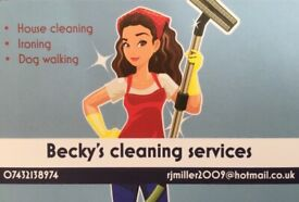 Becky's Cleaning Services