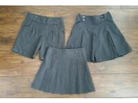 Girls School Skirt and Culottes. Age 9 Years.