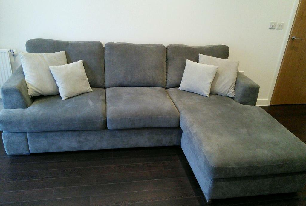 4 seater sofa dfs freya in graphite in wandsworth london gumtree Dfs 4 seater leather sofa
