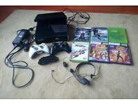 Xbox 360 slim 250gb with kinect
