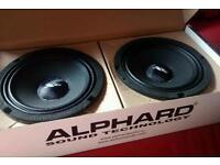 Alphard Hannibal X6C Door Speakers/Boot build