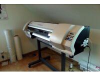 Roland SP-300, large format, eco-solvent printer