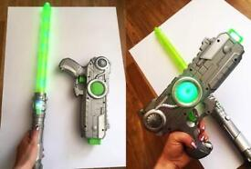 Laser gun and light sword