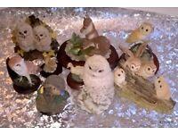 JOB LOT Ornaments Owls / Wildlife - Good for Car Boots /eBay
