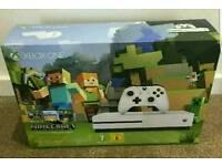 Xbox One S minecraft bundle brand new sealed