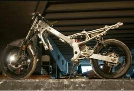 Cbr600 f steelie rolling chassis
