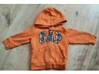 Boys Gap hoodie age 2 years