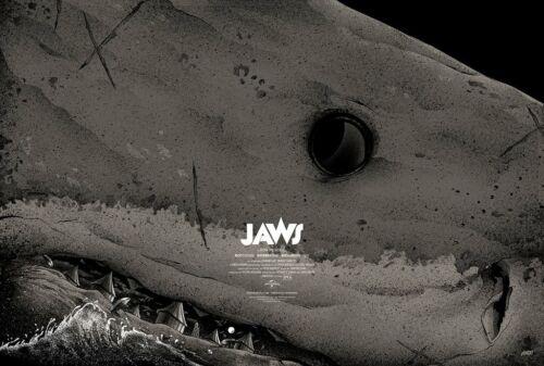 JAWS MATT RYAN TOBIN REGULAR EDITION /275 MONDO  PRINT POSTER