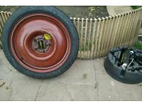 Spare tyres for saab 95
