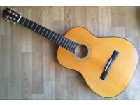Hohner MC-05 6 Strings Acoustic 4/4 Guitar Spanish Classical Acoustic Natural full size