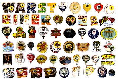 WARSTEINER / BIER BALLON Pin / Pins - 58 verschiedene Pins !!!!!!!!!!!!! (4056)
