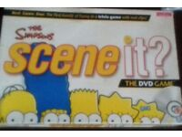 The Simpsons Scene It Board Game