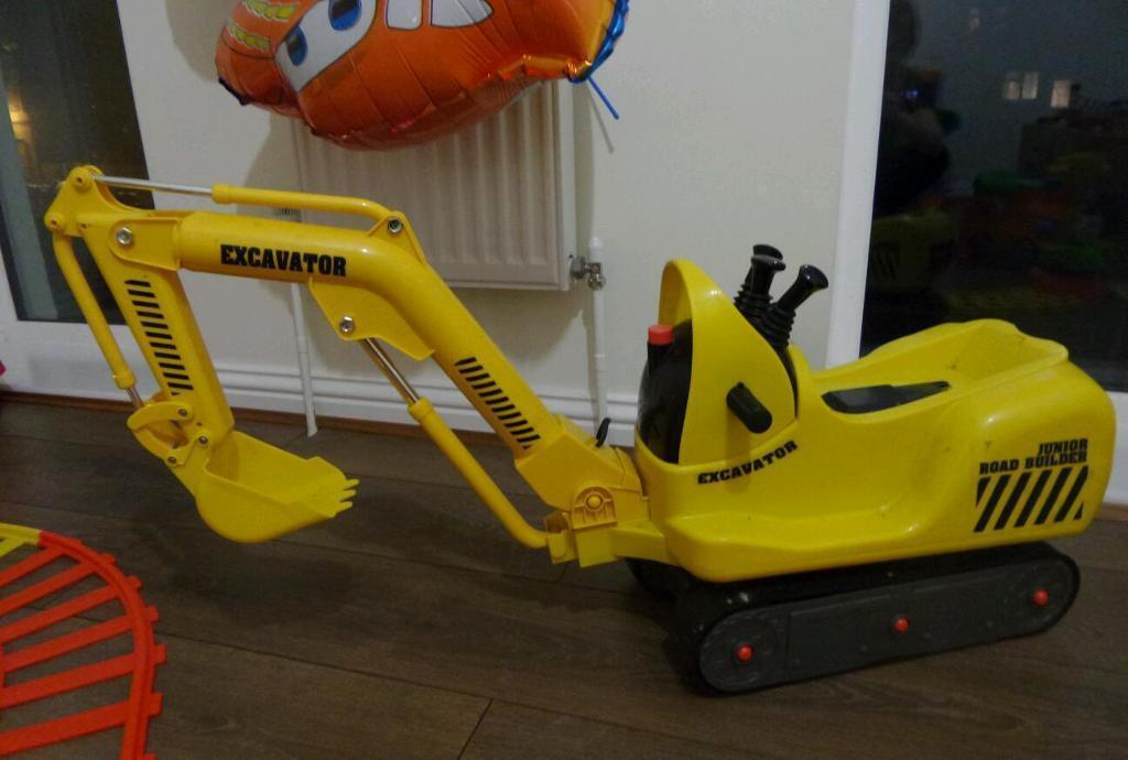 electric excavator junior road builder toy in norwich norfolk