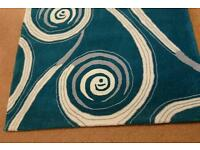 High quality Brand New Teal rug for sale