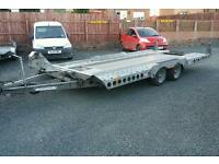 2014 ifor williams ct177 tilt bed car transporter trailer 17 x 7 3500kg