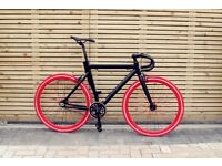 Special offer!!!Aluminium Alloy Frame Single speed road track bike fixed gear racing fixie bicycle 6
