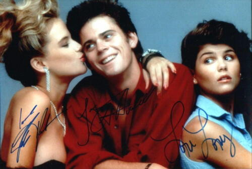 SECRET ADMIRER.. Kelly Preston, C. Thomas Howell, and Lori Loughlin - SIGNED