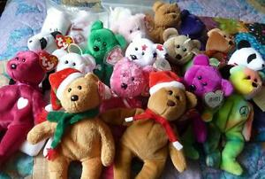Rare Ty Beanie Baby Bear Collection