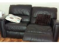 Excellent condition leather recliner