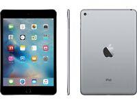 iPad 4 mini 128gb WIFI (Space Grey) SEALED IN BOX