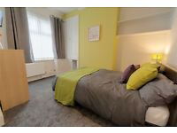 Furnished Double Room in Stoke on Trent near Hospital, Train Station and Town