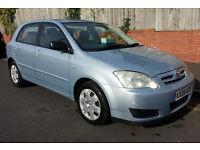2005 Toyota Corolla T2 d4d 2.0 Diesel. 5 door. New Mot. Very Good Drive