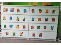 Drawers for kids rooms