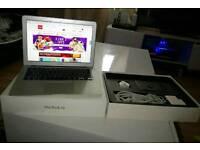 Silver Apple macbook air 13.3in model A1466
