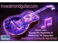 Guitar Lessons - at Inveralmond Community High School Livingston