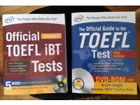 TOEFL books last editions