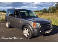 IMMACULATE Landrover Discovery 3 TDV6 XS auto 4x4 met Grey new tyres new brakes serviced fresh mot