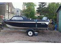 50hp Fishing Boat - Cabin Cruiser