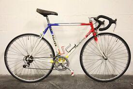 Vintage Men's & Women's Racing Road Bikes - Restored 80s 90s PEUGEOT RALEIGH REYNOLDS 501 531 Frames