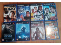 14 X PS2 GAMES FOR SALE