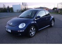 Volkswagen Beetle Dark Blue 2010 1.6L Manual Petrol Hatchback 3DR FSH 64K VGC