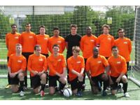 PLAY FOOTBALL IN SOUTH London, FIND FOOTBALL IN WANDSWORTH, JOIN FOOTBALL TEAM LONDON : orangeblack2