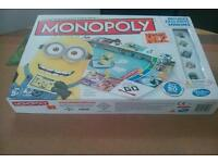 MONOPOLY DESPICABLE ME **INCLUDES EXCLUSIVE MINIONS *** AS SHOWN ***