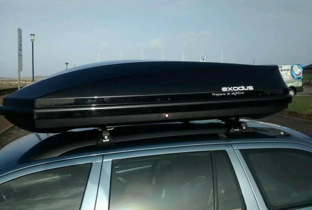 Exodus Roof Bars >> Exodus 580l Roof Box | in Prestwick, South Ayrshire | Gumtree