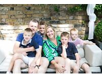 St Johns Wood NW8: Nanny / Mothers Help / Au-Pair. EXCELLENT PAY. LIVE-IN, DRIVING LICENSE REQD