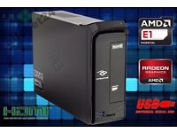 ULTRA SMALL IMEDIA S2185 / AMD E1-2500 APU / 4GB / 250GB / HDMI / RADEON HD8240 / KEYBOARD MOUSE