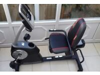 Excellent exercise bike, hardly used following accident.