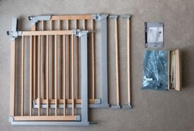 Safety gates by BabyDan (DesignerGate) including extensions