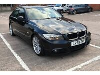 Bmw 320d M sport auto business edition 2009 59 plate big satnav heated leather seats fully loaded