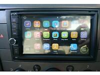 Android double din, car stereo, quad core cpu, GPS Sat Nav, BT, Wifi, ipod, OBD2,